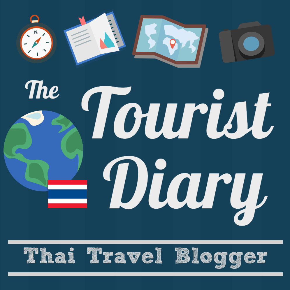 The Tourist Diary - Square (Dark Blue)