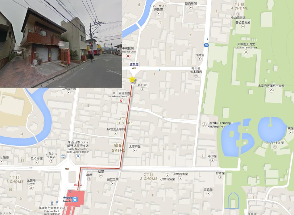 Dazaifu-Udon-Map-3