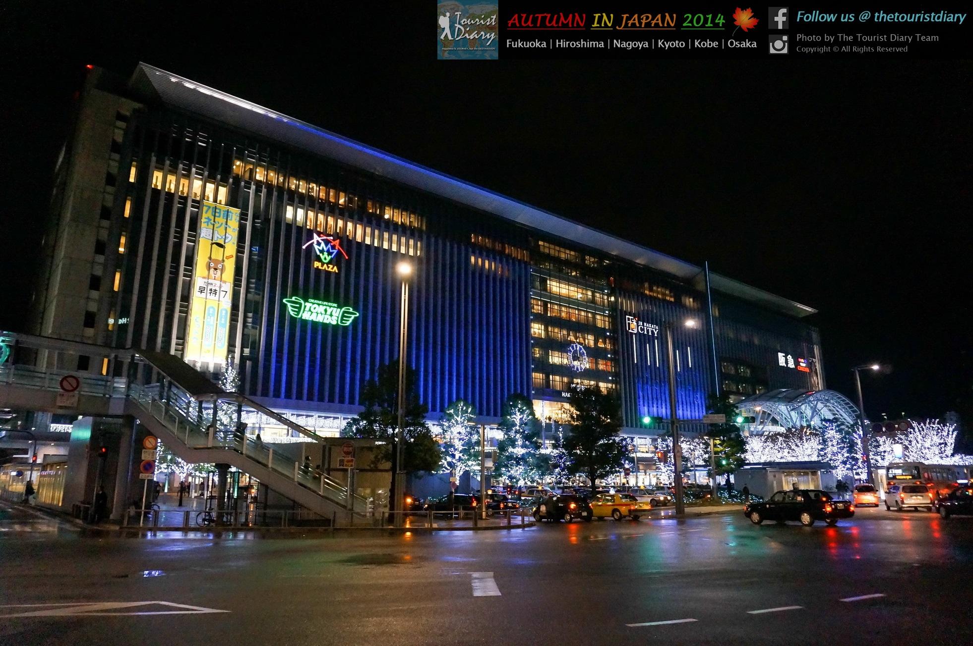 Fukuoka   JR Hakata City & Hakata Station