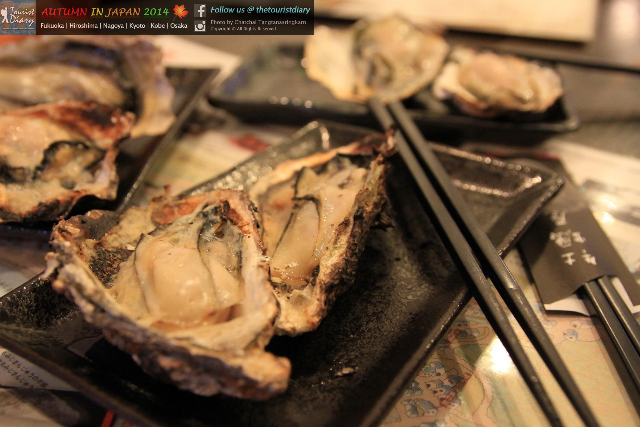Miyajima | Kaki-ya หอยนางรมย่างร้านดังบนเกาะมิยาจิม่า