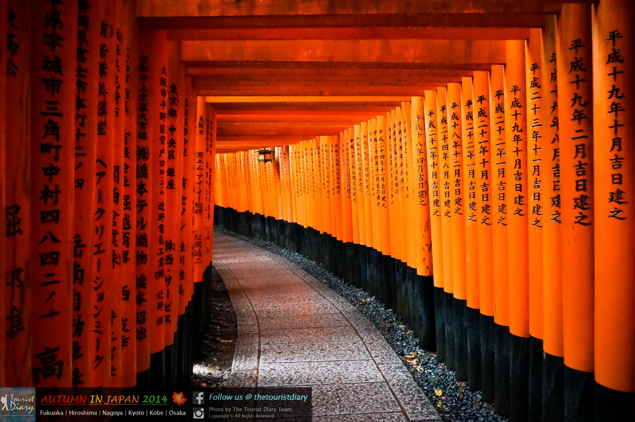 Kyoto | Fushimi Inari Shrine ฟูชิมิ อินาริ ศาลเจ้าเสาหมื่นต้น