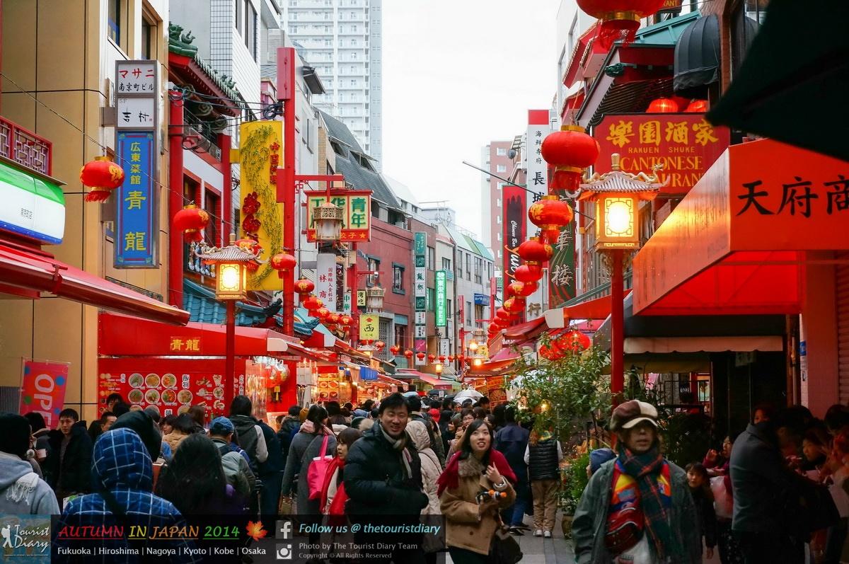Kobe | ย่านคนจีน Kobe Chinatown และถนนคนเดิน Motomachi