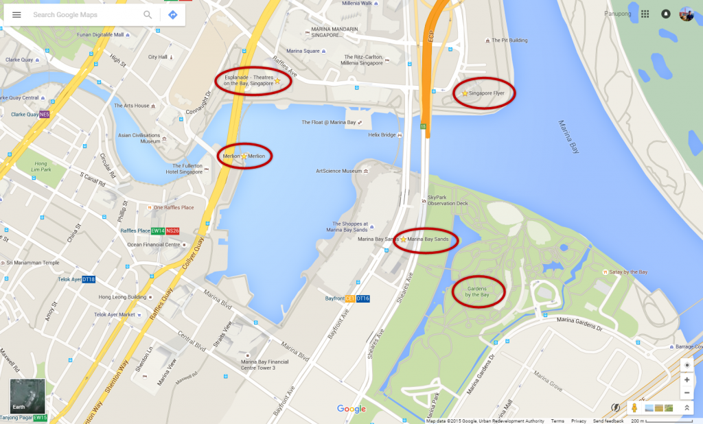 Singapore Map 5