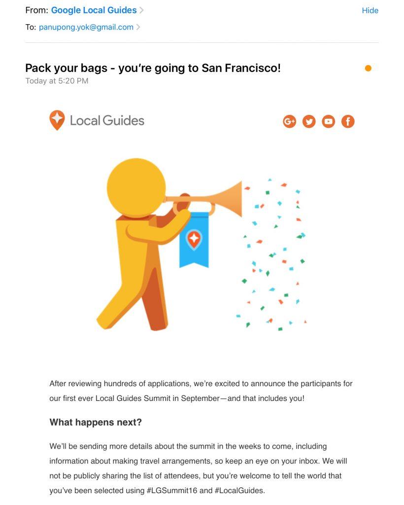 LGSummit Email